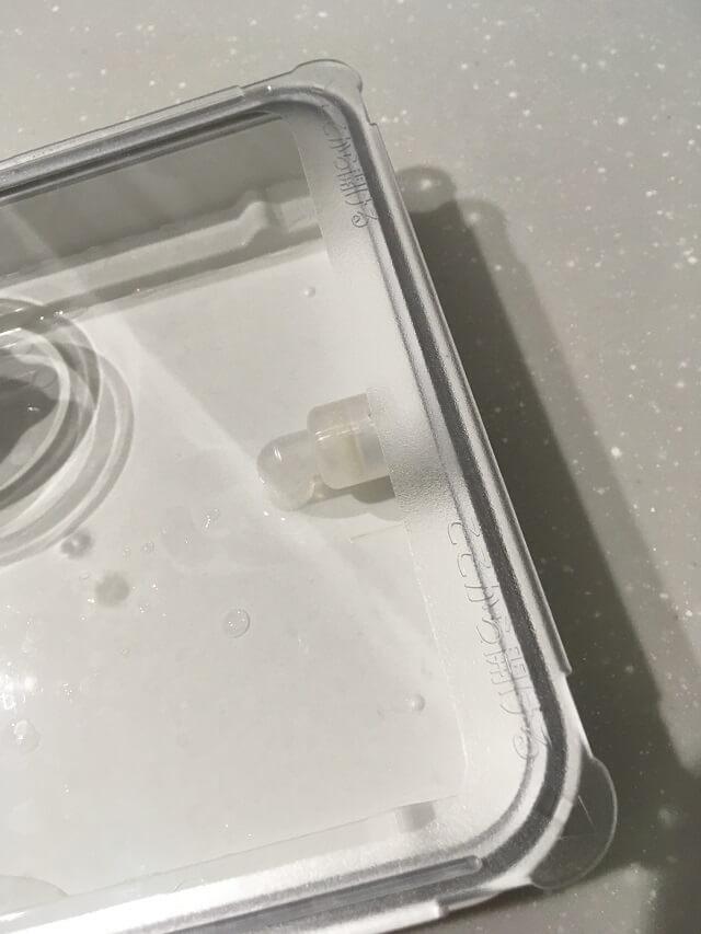 給水タンクのパイプキャップ