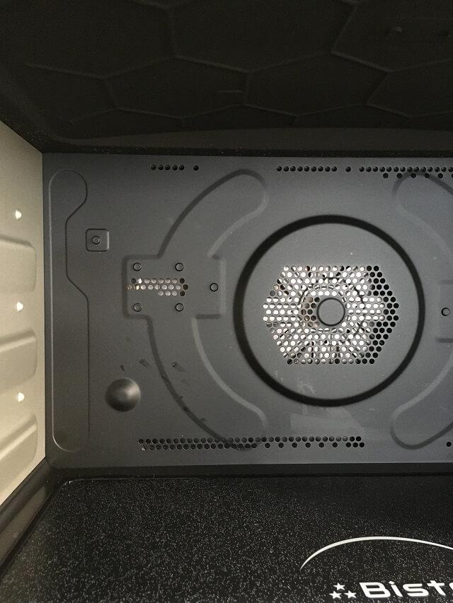 パナソニックビストロNE-BS807の庫内の様子