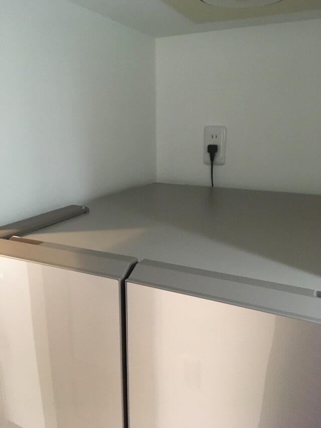 冷蔵庫天面