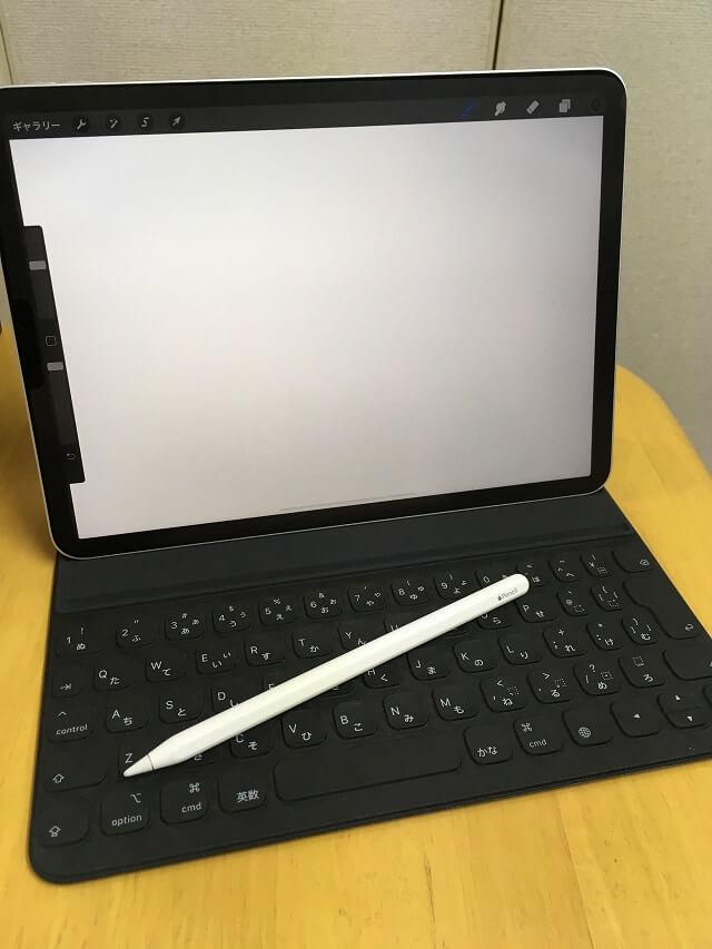 iPad Pro「Procreate」作画画面