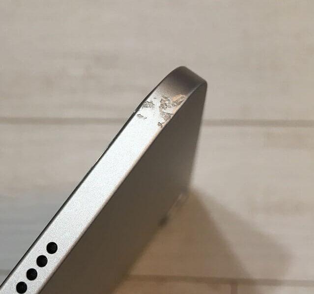 iPadについた傷