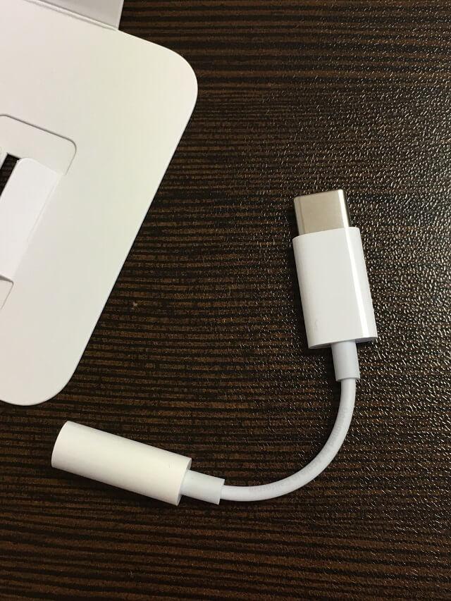 Apple純正USB-Cヘッドフォンジャック